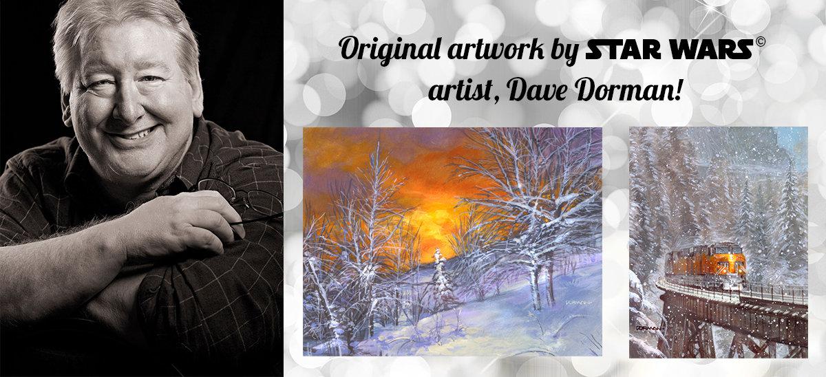 Original artwork by STAR WARS © artist, Dave Dorman!