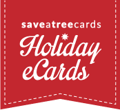 SaveATreeCards Holiday eCards 2016
