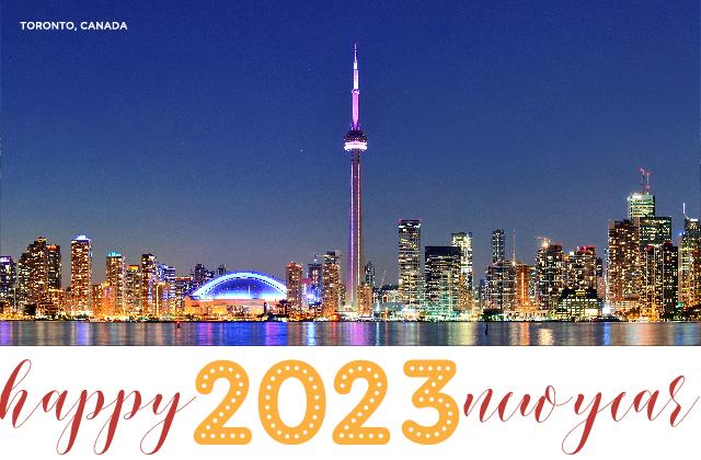 Toronto Canada New Years 2021