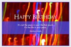 Blur Birthday