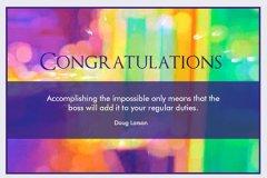 Blur Congrats