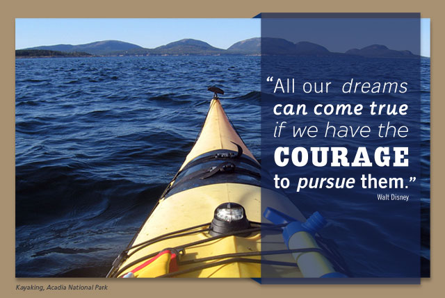 All our dreams can come true if we have the courage to pursue them. -- Walt Disney
