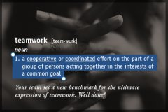 Definition Teamwork