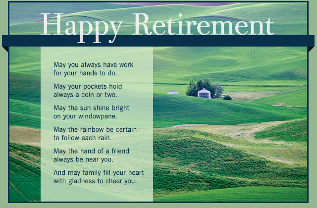 Happy Retirement eCard