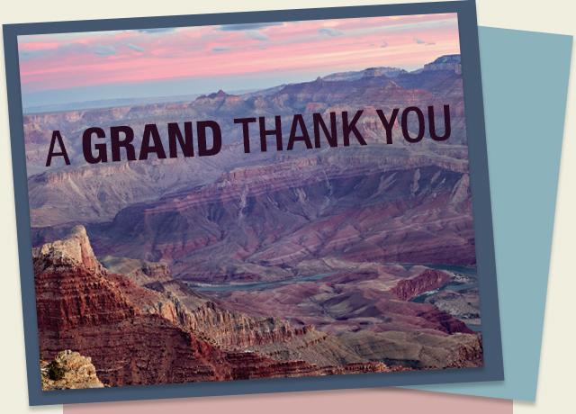 A Grand Thank You eCard