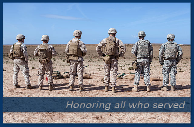 Honoring all who served eCard