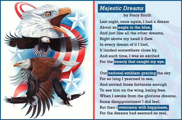 Magestic Dreams Poem by Stacy Smith eCard