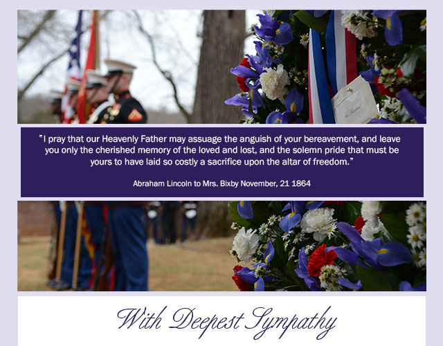 With Deepest Sympathy eCard