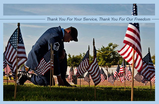 Thank You For Your Service, Thank You For Our Freedom eCard