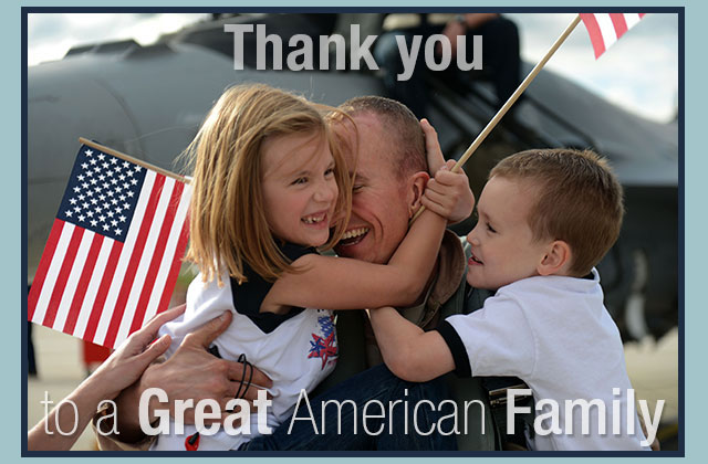 Thank you to a Great American Family eCard