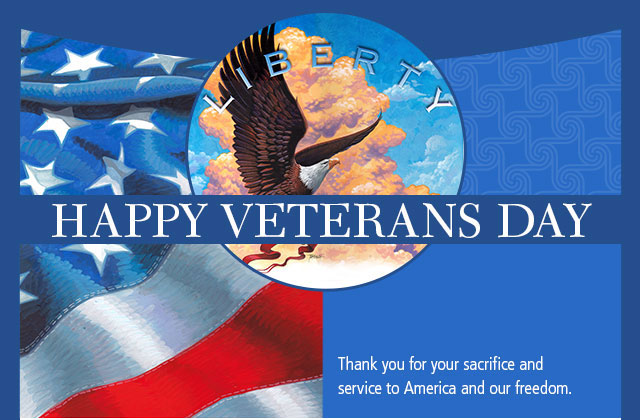 Happy Veterans Day eCard
