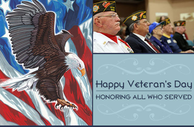 Happy Veterans Day eCard Honoring all who served