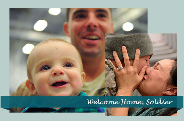 Welcome Home Soldier eCard