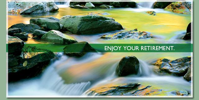 Enjoy your retirement.