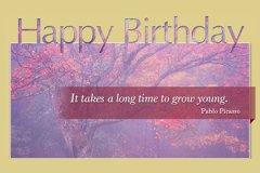 Photo Big Letters Happy Birthday2