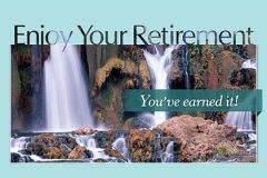 Photo Big Letters Retirement