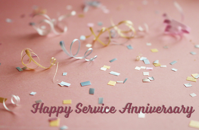 Happy Service Anniversary