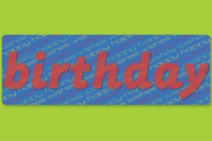 Textonly2 Birthday