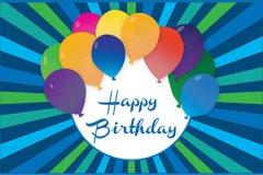 Vector Birthday