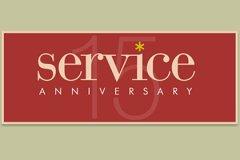 Year Service15