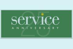 Year Service25